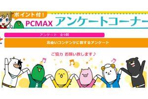 PCMAXのアンケート