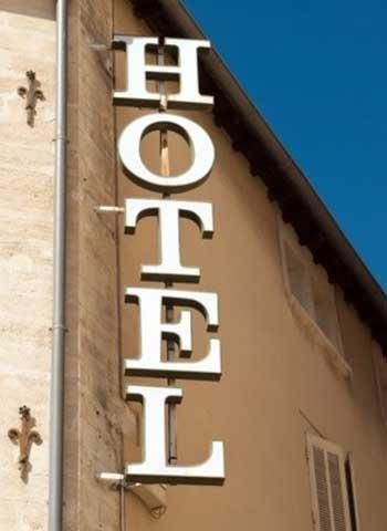 昼間のラブホテル