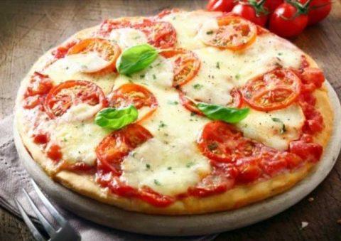 ピザを注文