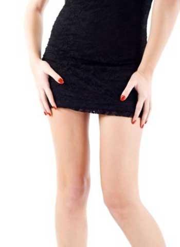 短いスカートがセクシー
